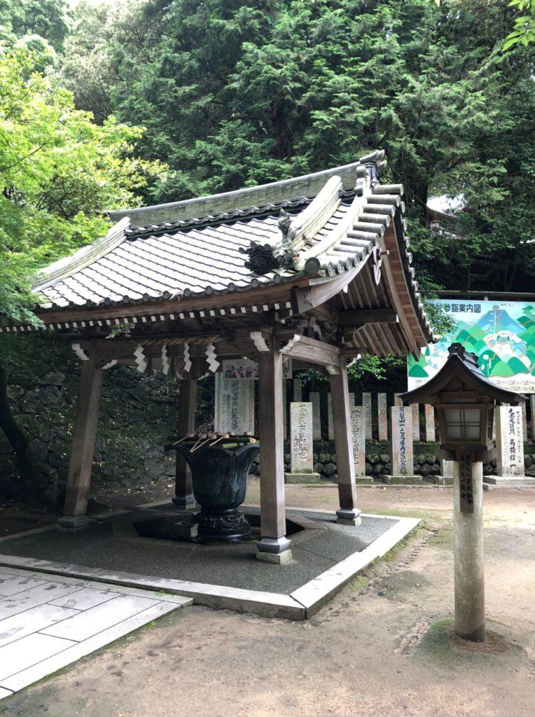 石鎚神社の清めるところ