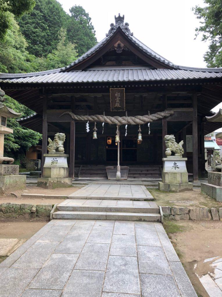 石鎚神社の奥にある神社