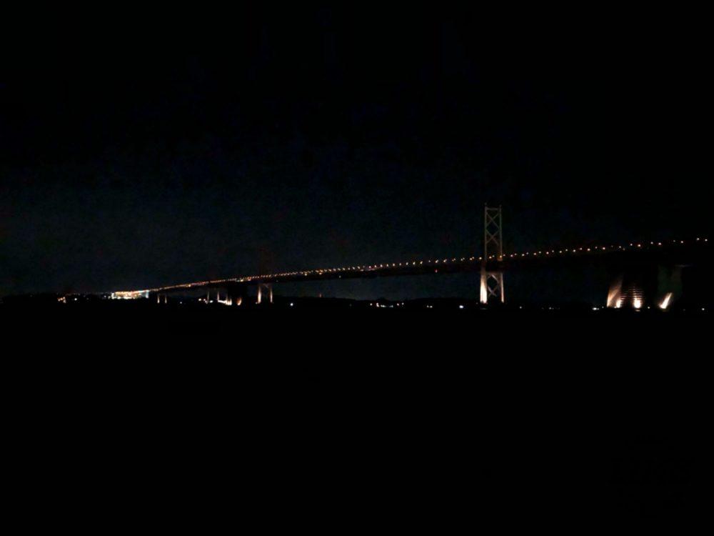 沙弥島、ナカンダ浜からの夜景