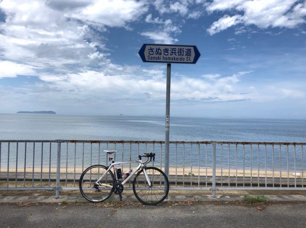 仁尾サンビーチでBOMAと記念写真