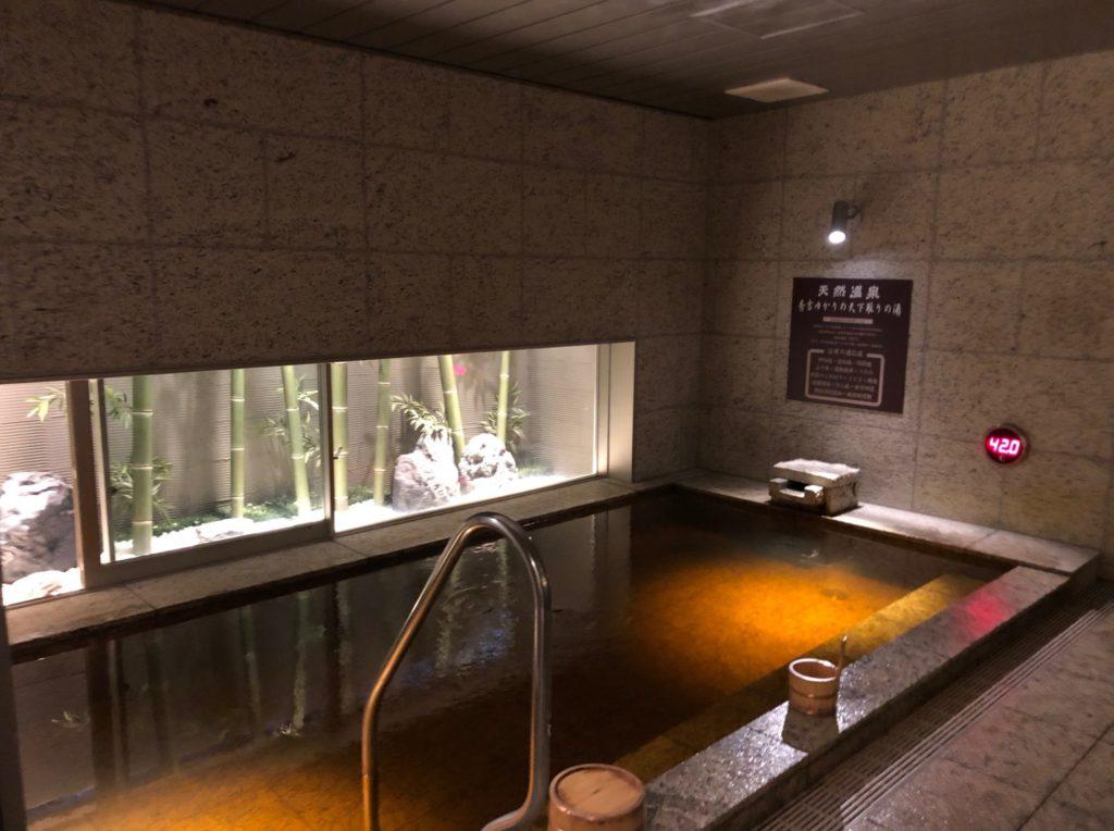 スーパーホテルLohas地下鉄四ツ橋線・本町24号口の大浴場