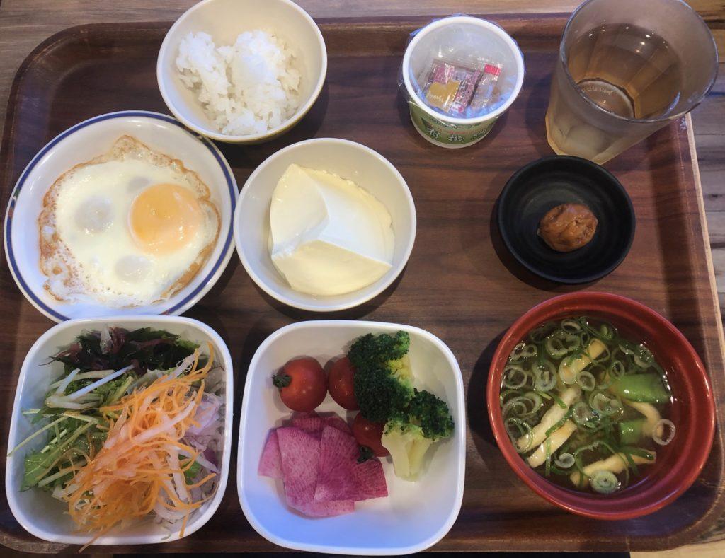 スーパーホテルLohas地下鉄四ツ橋線・本町24号口の朝食