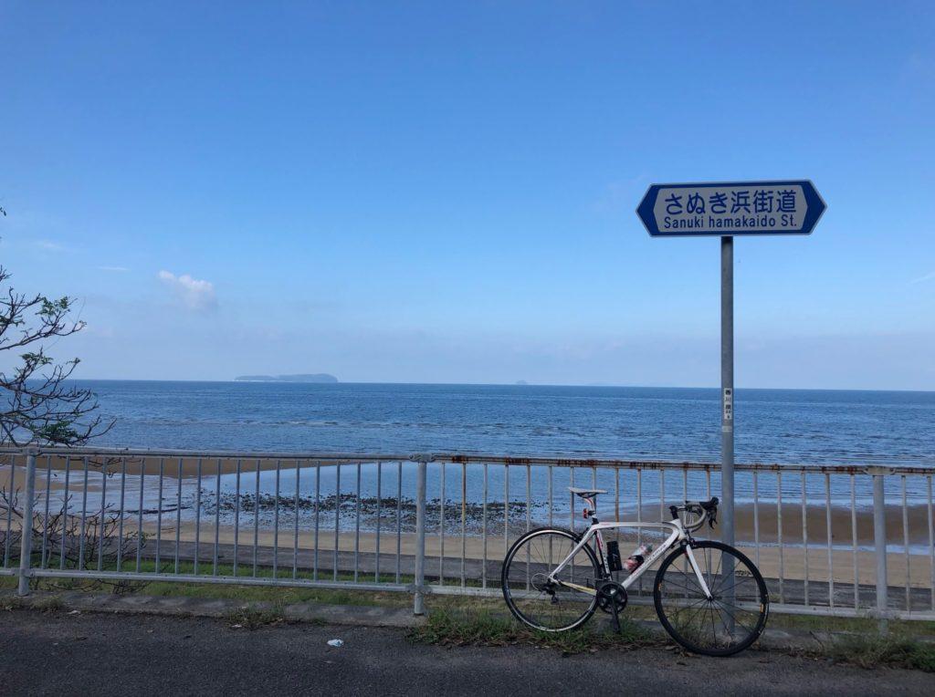 仁尾サンビーチの定点観測地点