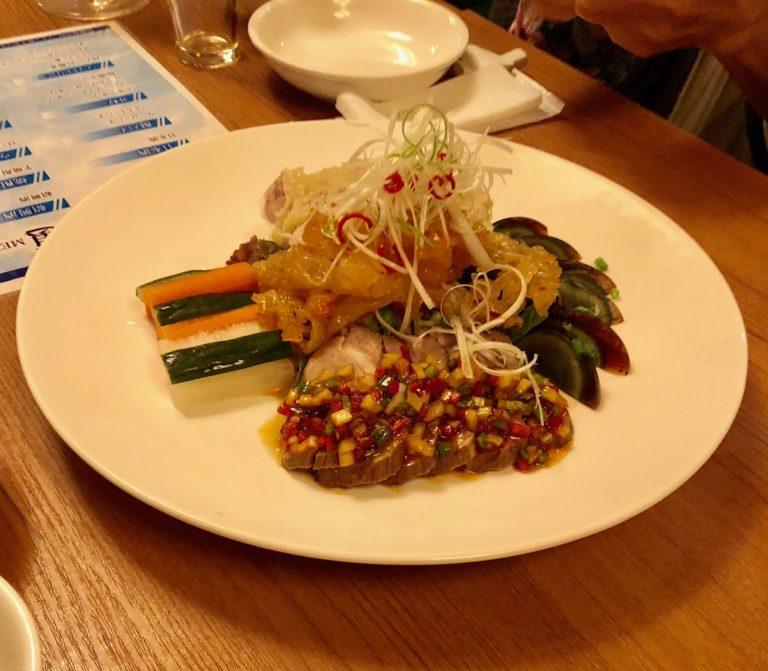 青蓮六本木一丁目店の前菜