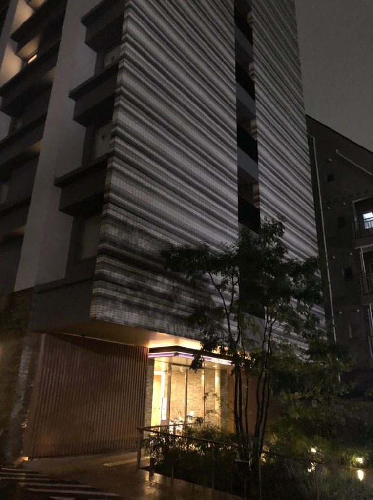 京王プレッソイン赤坂玄関口