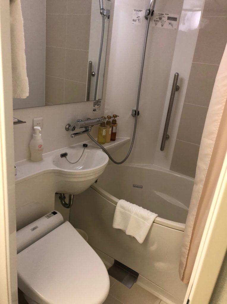 京王プレッソイン赤坂の浴室