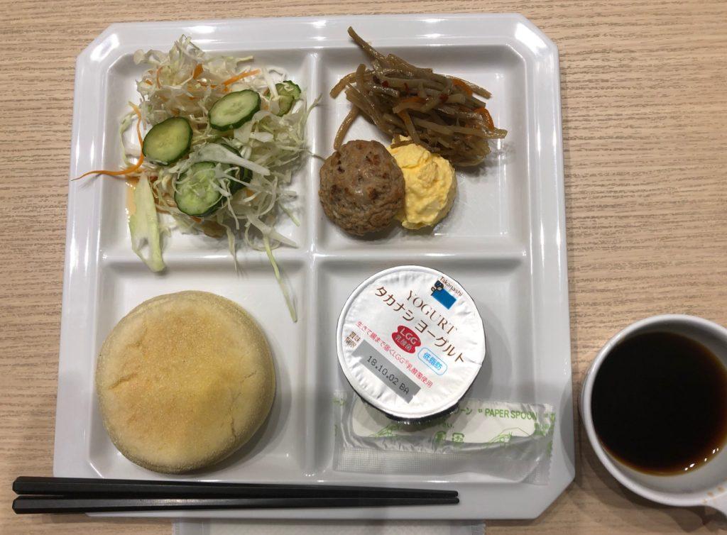 京王プレッソイン赤坂の朝食