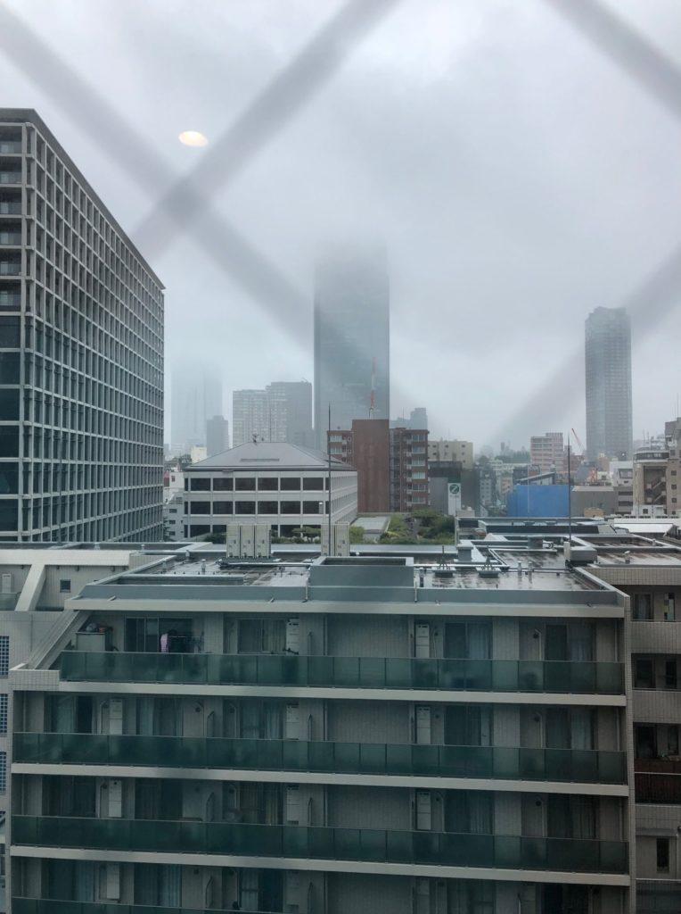 京王プレッソイン赤坂で迎えた朝