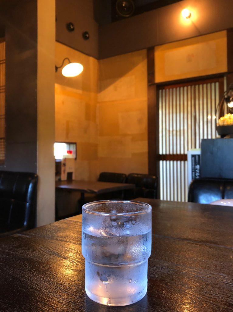 珈琲屋松尾のお水