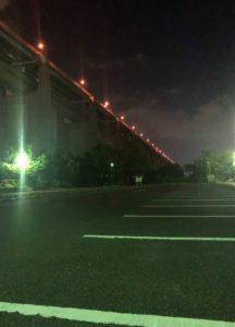 瀬戸内記念公園の駐車場