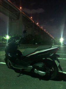 瀬戸大橋記念公園とPCX150