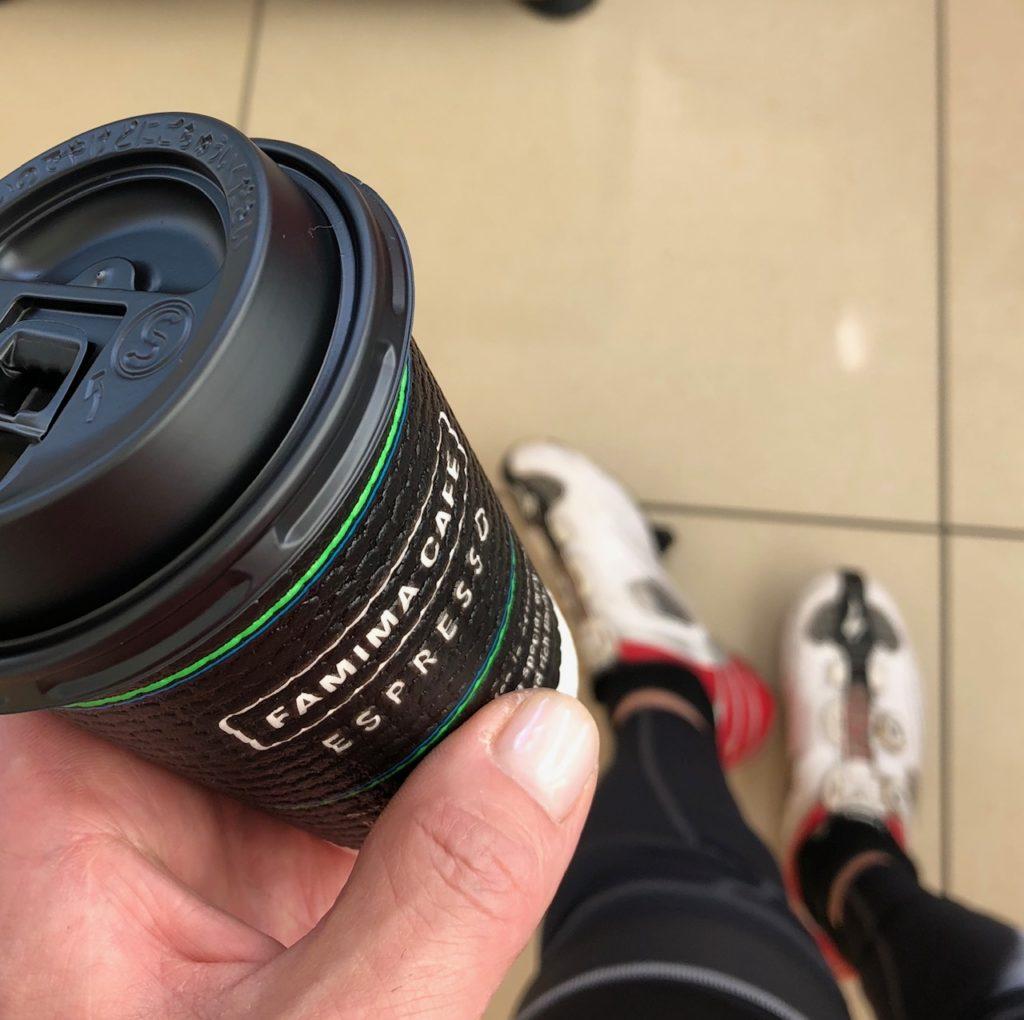ファミマでカフェイン投入