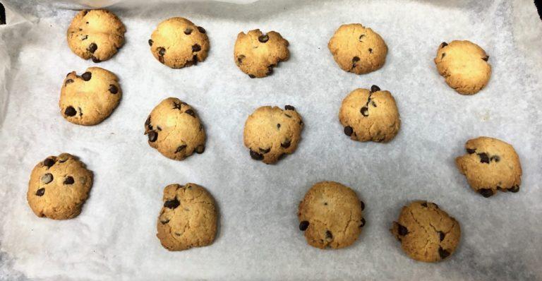 HM粉で作ったチョコチップクッキー