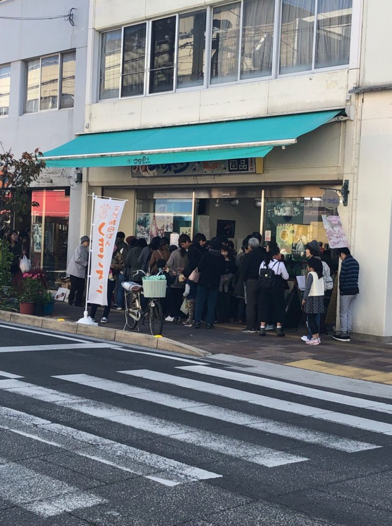 観音寺パンストリートの群衆その②