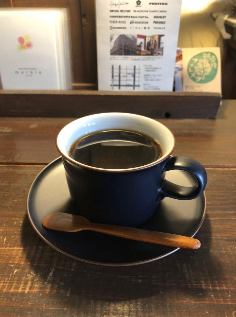 カフェ・ネストのマンデリン