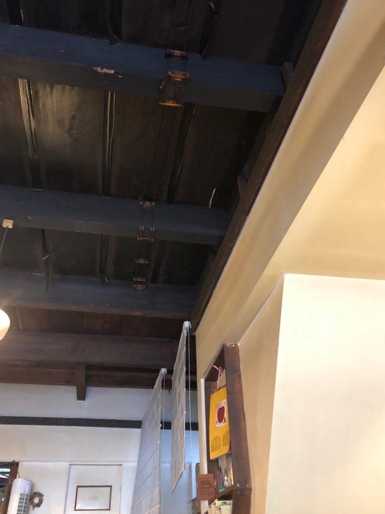 カフェ・ネストの天井