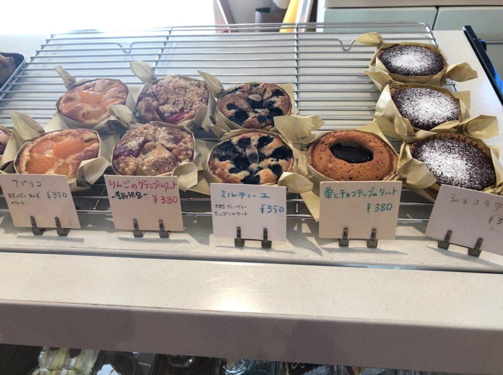 焼き菓子の店SucreSucreのショーケース
