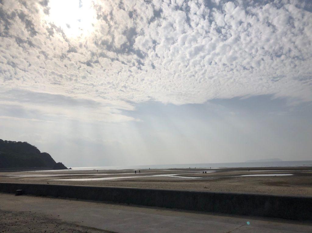 香川県仁尾町の父毋ヶ浜