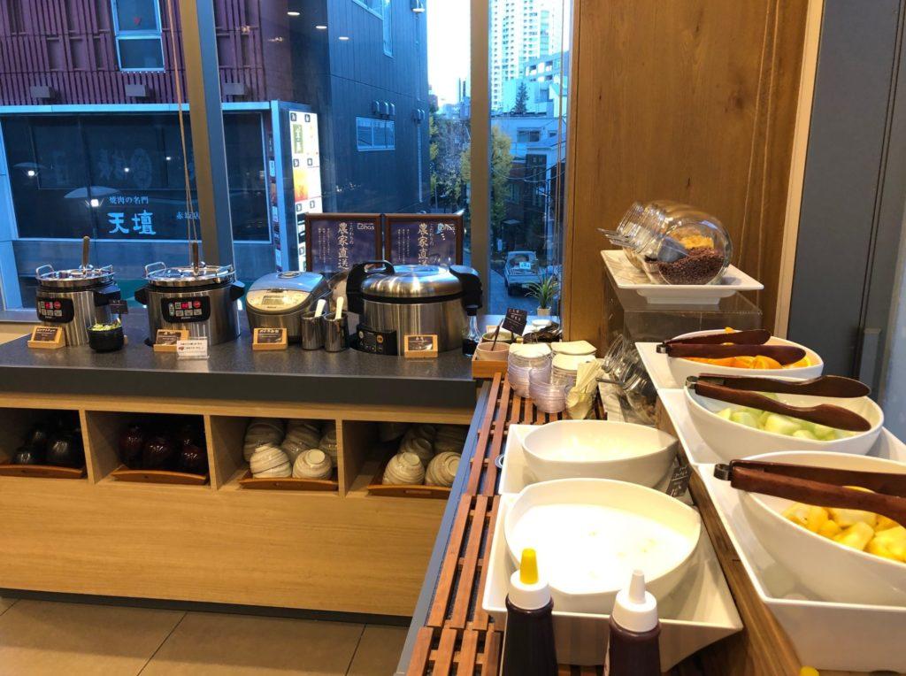 LOHAS赤坂のご飯とデザートたち