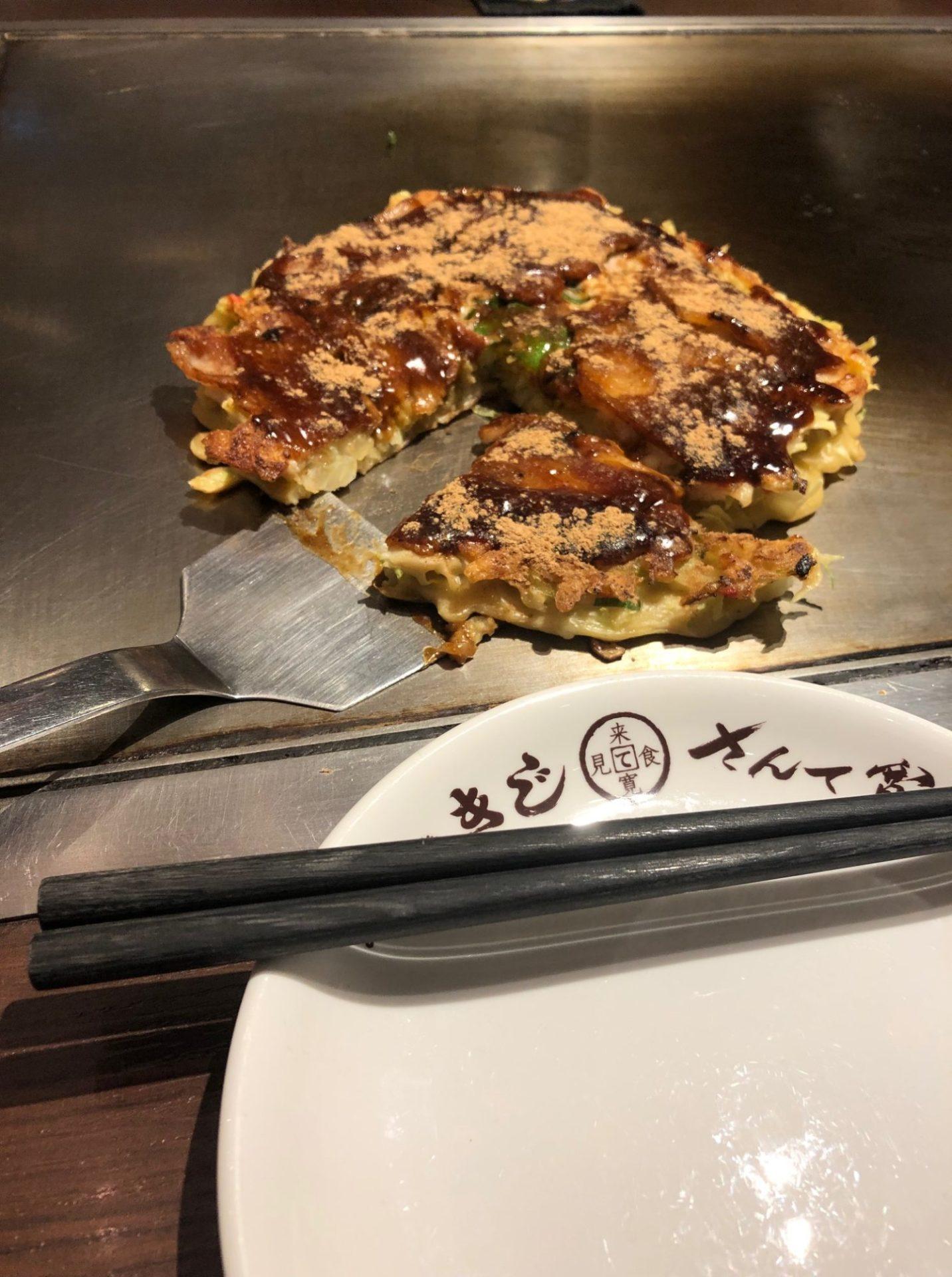 戸田亘のお好み焼 さんて寛の豚玉
