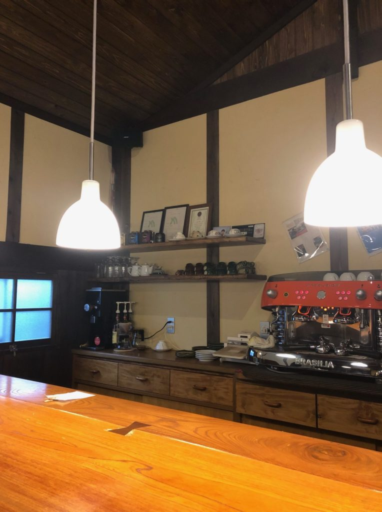 Cafe Ta蔵のカウンター席