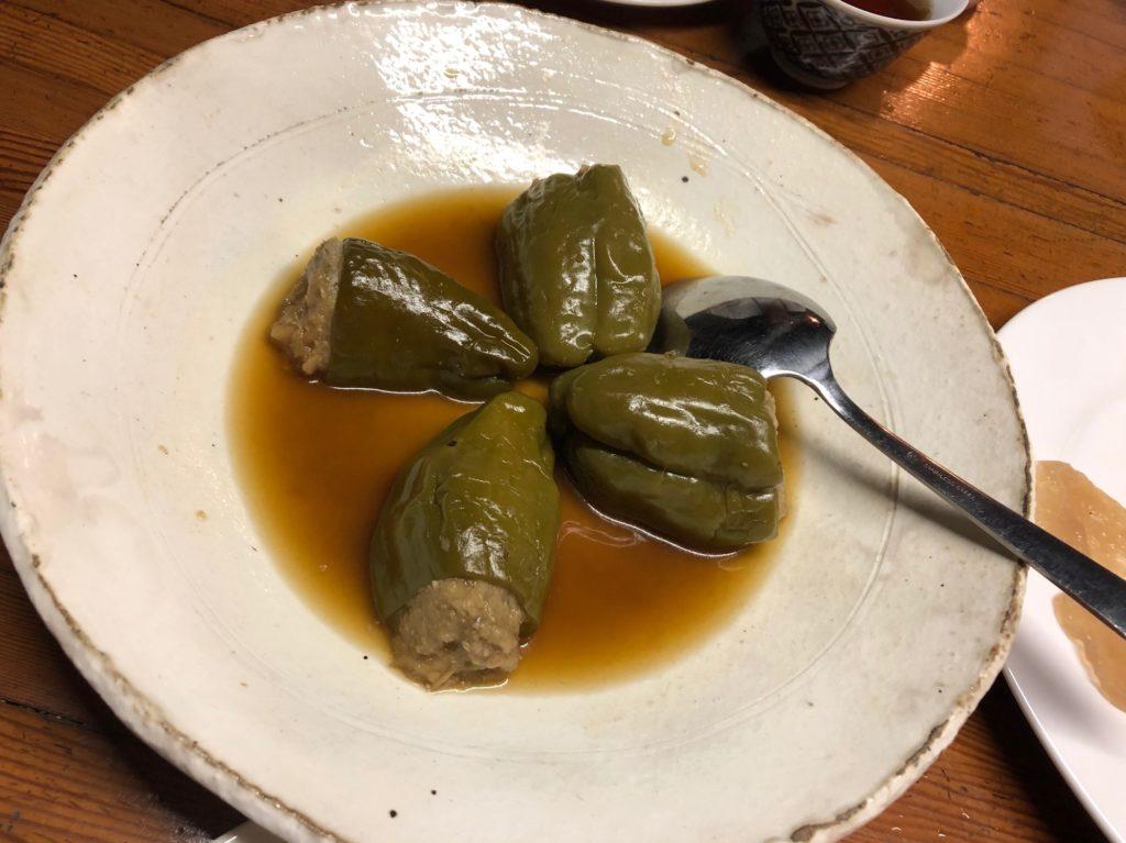 百姓屋敷わらの10月7日の夕食