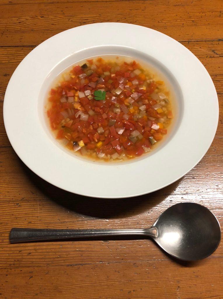 百姓屋敷わらの10月7日のスープ