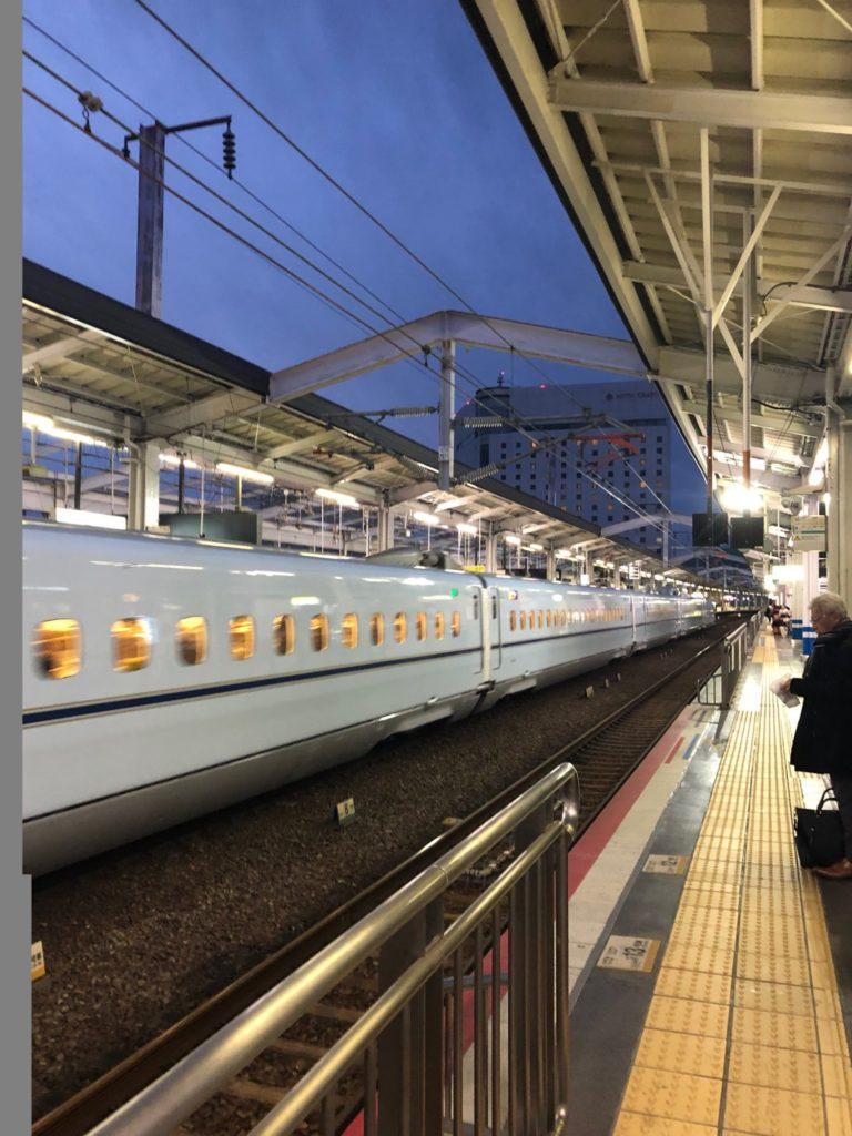 2019/01/26始発の岡山駅