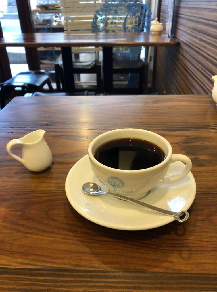 神戸県庁前パーラーねむの木のコーヒー