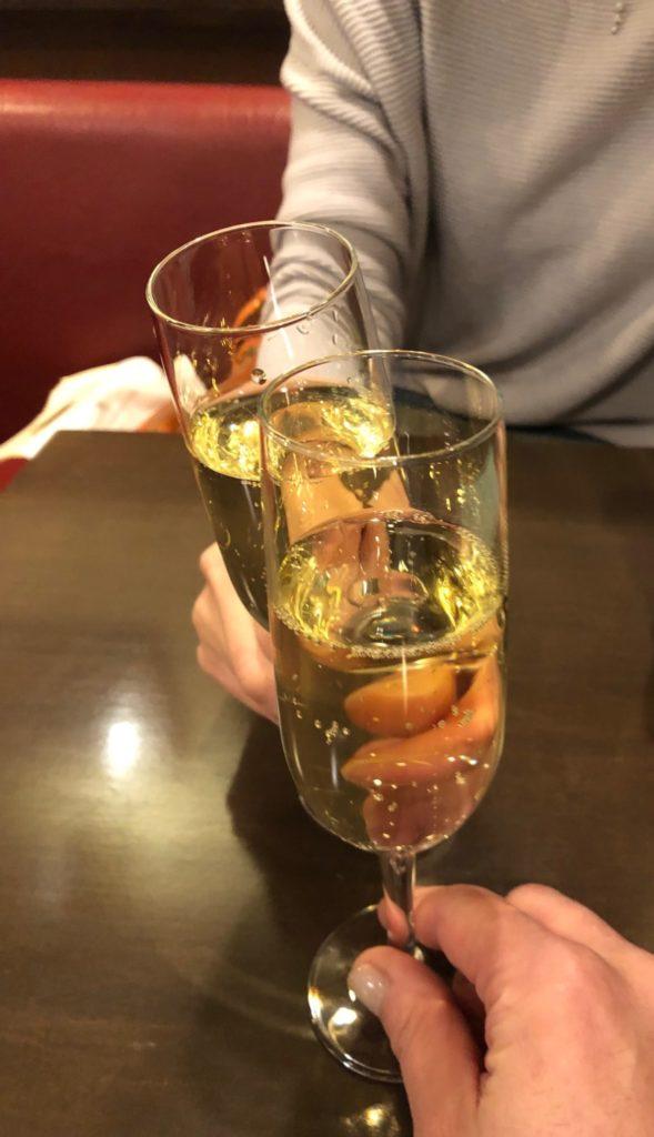 トラットリア ダ ゴイーノの泡