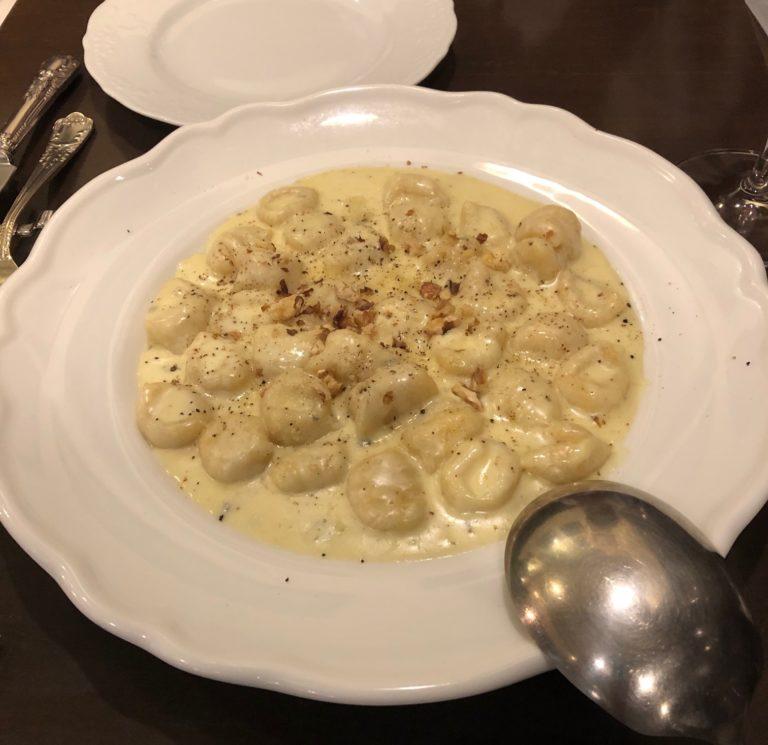 ジャガ芋のニョッキ ゴルゴンゾーラソース