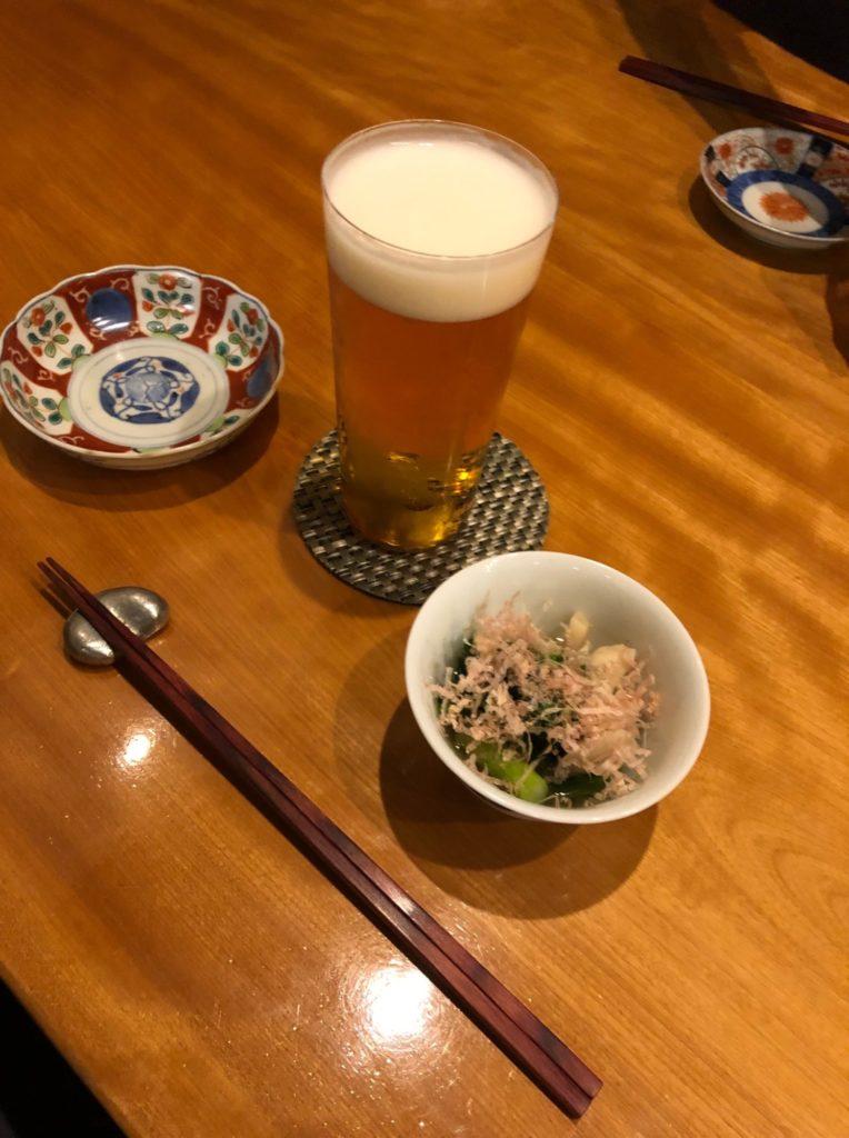 高松 天馬の生ビール