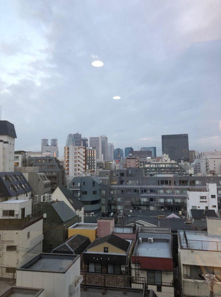 19/02/25東京ビジネスホテルの朝