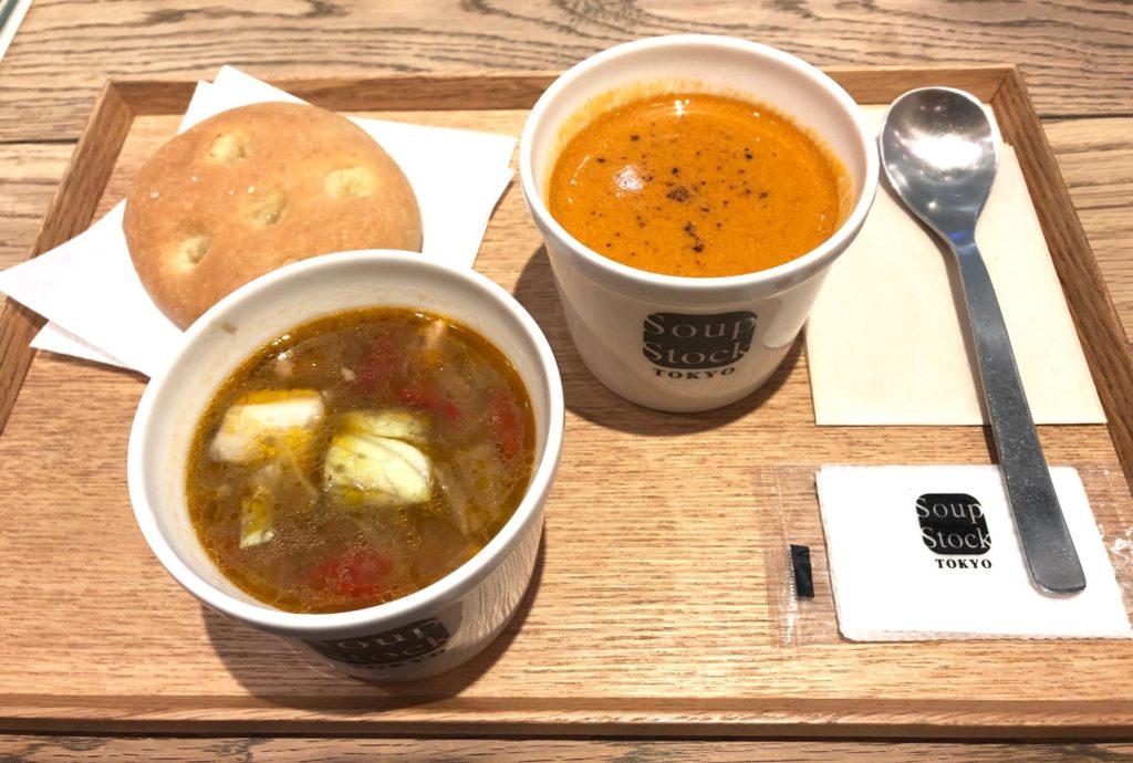 スープストック東京のスープストックセット