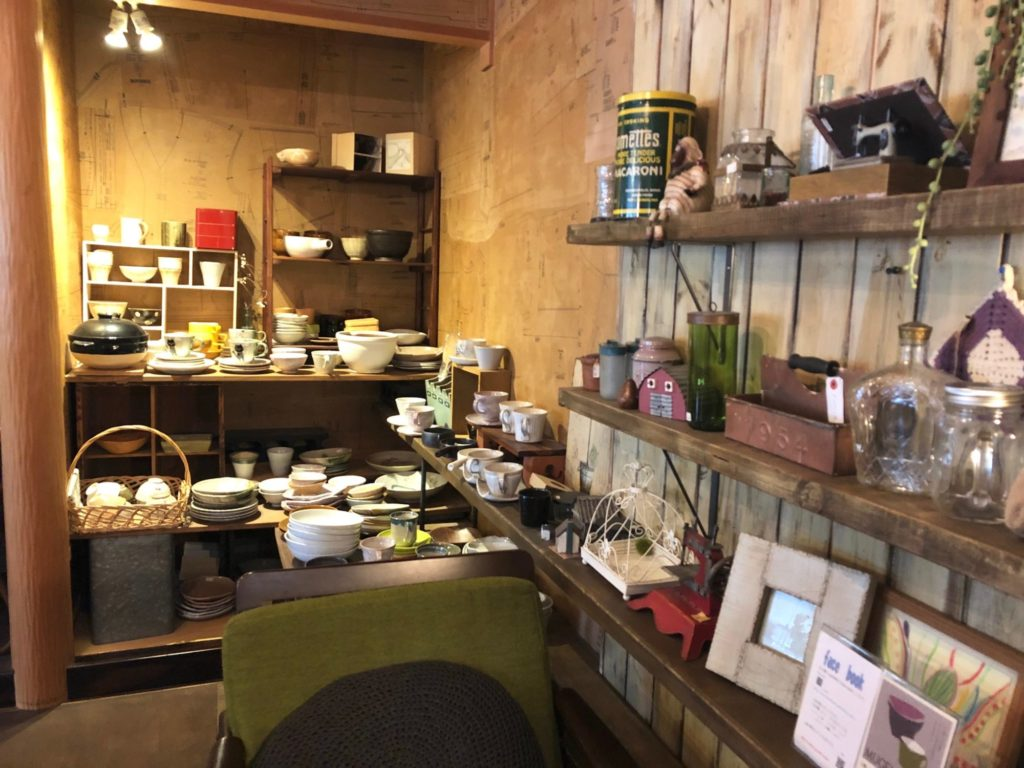善通寺市のカフェ陶花の雑貨