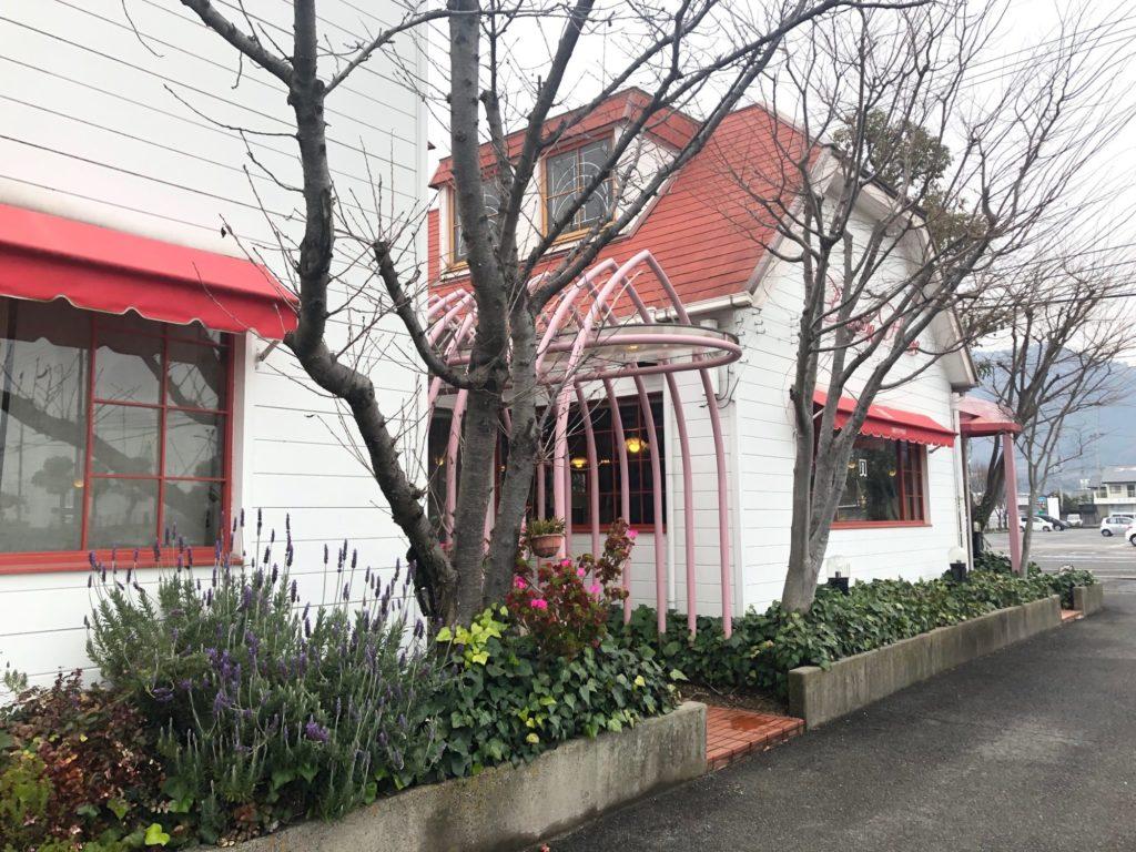 観音寺市のリバティーハウス外観