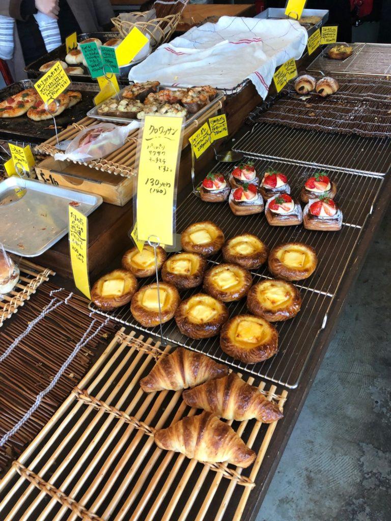 高松市花園町のニシパンのパンたち