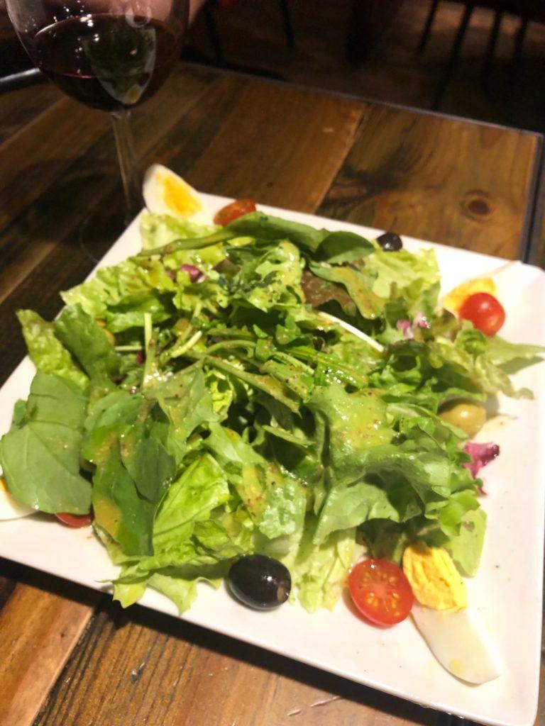 パシオンのグリーンサラダ