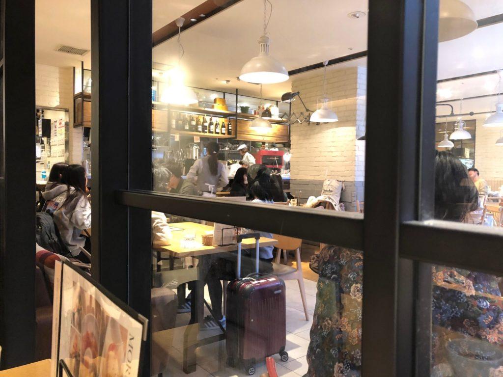 名古屋のマカロニの店内の様子