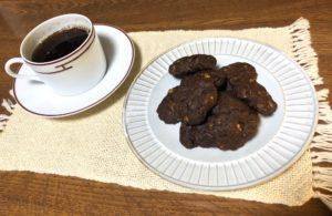 チョコチップ×コーンフレークのクッキー