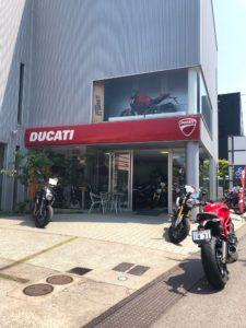 バイクハウス阿部のドカティ店舗