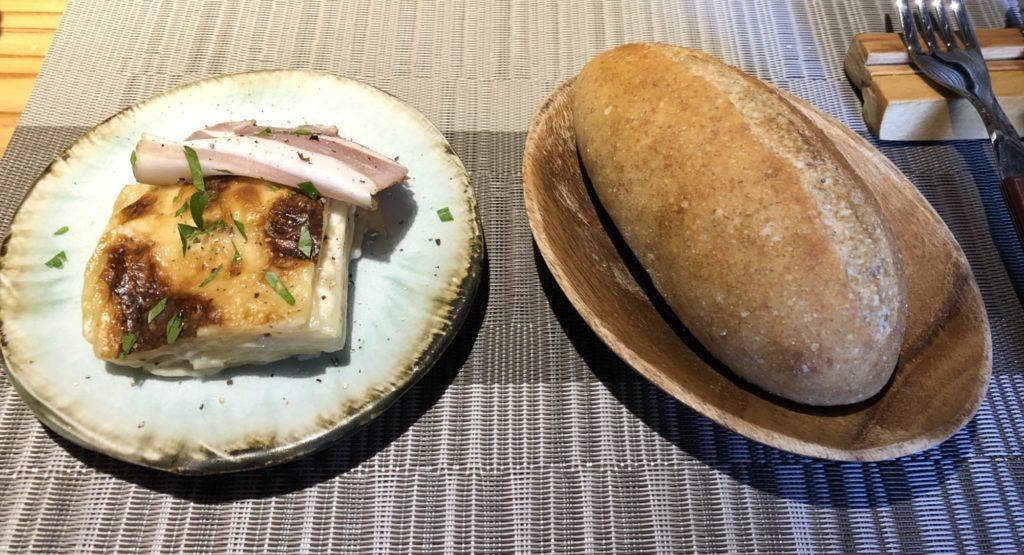 香川県大森商店のパンと前菜