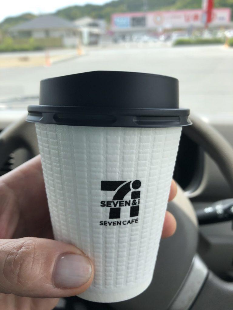 安定のセブンイレブンコーヒー