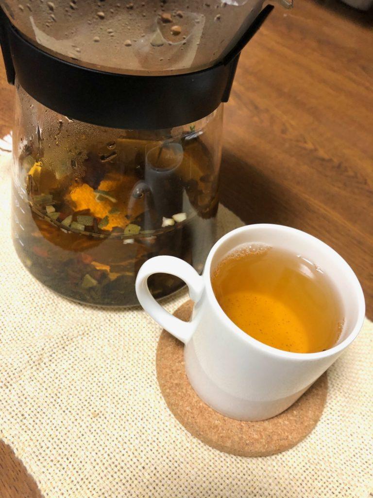 オリジナル舌みて作る薬膳茶