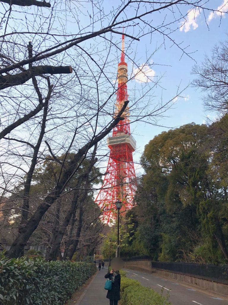 2021年1月9日の東京タワー